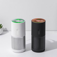 White Dolphin AP02 Mini Smart Car Air Purifier Remove Formaldehyde Negative Ions with HEPA Filters Cleaner For Car Home Office