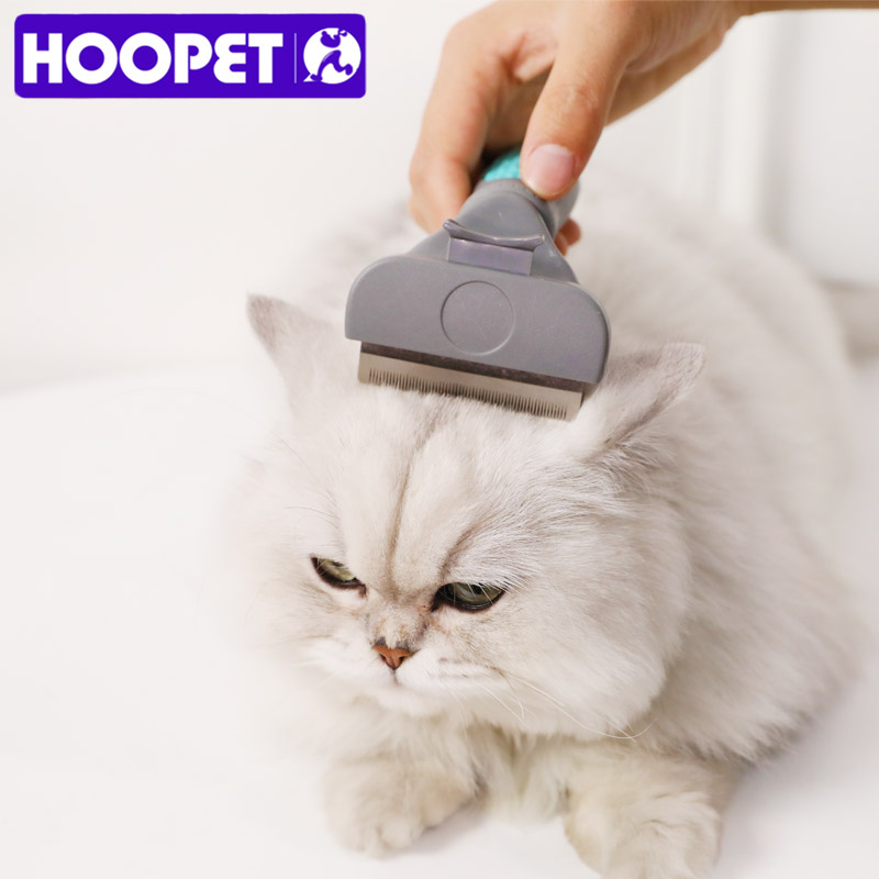 HOOPET Pet Hair Deshedding Comb Pet Dog Cat Brush Grooming Tool Hair Removal Comb For Dogs Cats