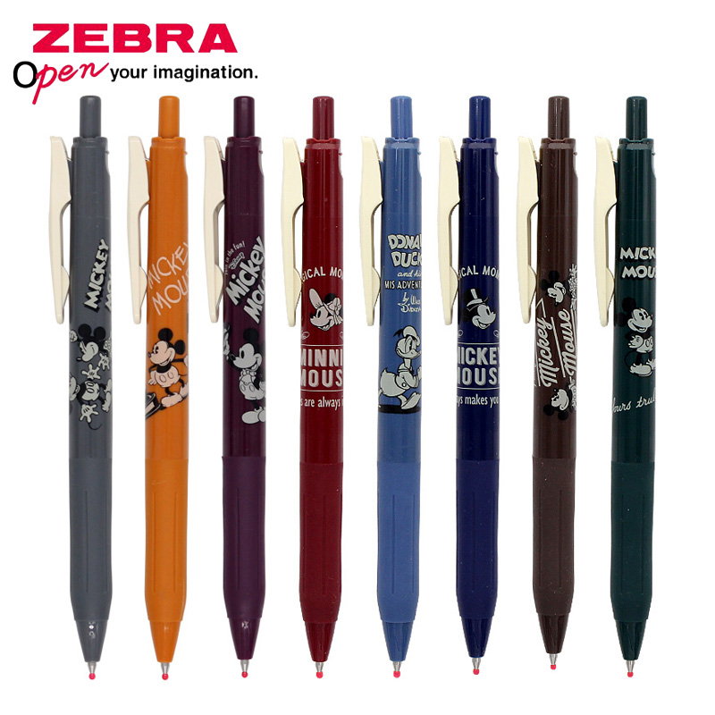 1 pcs zebra jj15 retro caneta limitada jj29 ds2 sarasa imprensa cor gel caneta 0 5mm