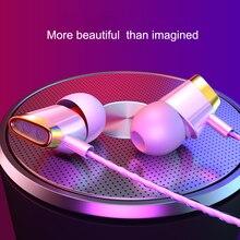 лучшая цена In ear 3.5mm Earphones For Phone iPh Huawei Xiaomi Headsets Wired Earphone Earbuds Earpiece subwoofer