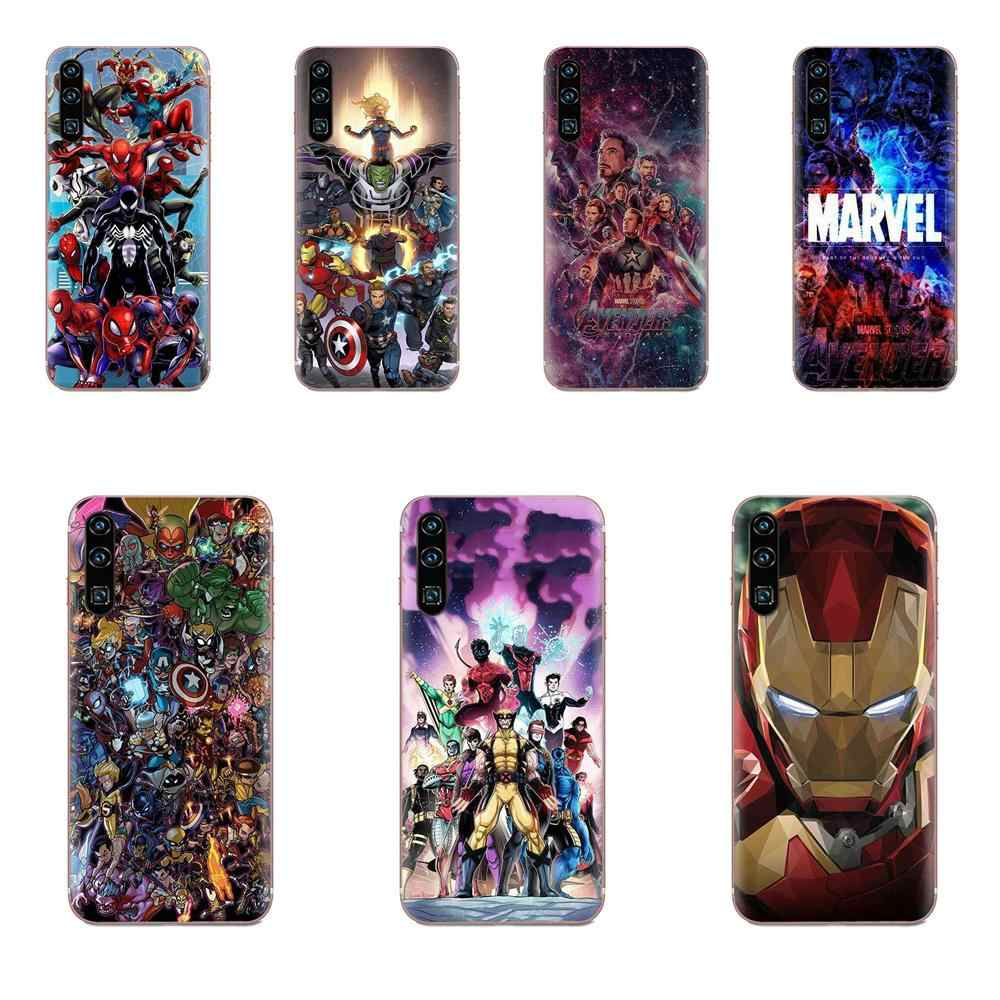 Soft Phone Cover Case Coque X-men Marvel For Samsung Galaxy A51 A71 A81 A90 5G A91 A01 S11 S11E S20 Plus Ultra