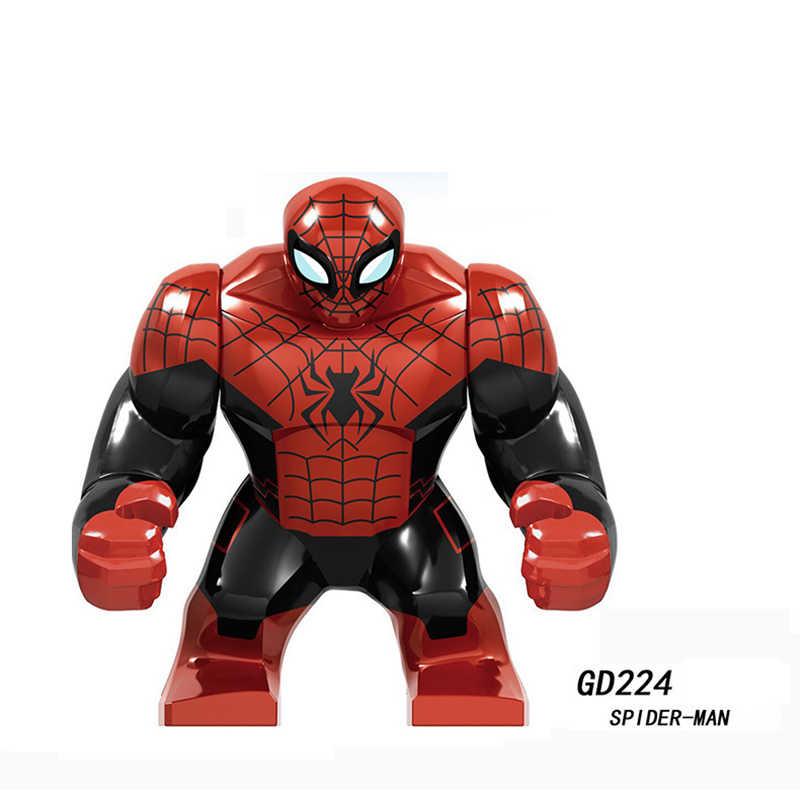 Único tamanho grande super heróis batman bane cull obsidian veneno edward brock anti-veneno hulk bloco marvel figuras crianças brinquedos presente