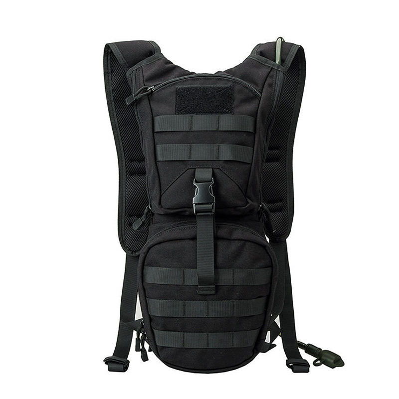 Fabricants actuellement disponibles 1000D Nylon tactique hydratation sac à dos en plein air équitation escalade sac à dos Camouflage B