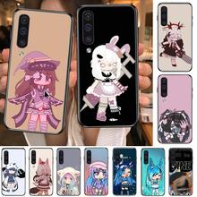 Social game Gacha Life case Phone cover hull For SamSung Galaxy S 8 9 10 20 21 S30 Plus Edge E S20fe  5G Lite Ultra black soft