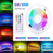 New Light strip Bluetooth LED Fairy Strip Light Colour Changing TV Backlight Music Sync Remote Control Timer Function Light Bar