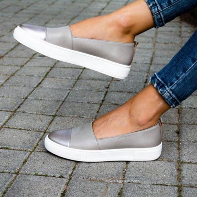 Shallow Vulcanize Comfortable Shoes Woman Sneakers Zapatos Mujer And Summer Shoes Sneakers Thick Bottom Shoes
