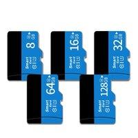 MicroSD para cámara/teléfono inteligente, 128 GB, 32GB, 64GB, 16GB, 8 GB, tarjeta Flash SD/TF, 8, 16, 32, 64, 128 GB