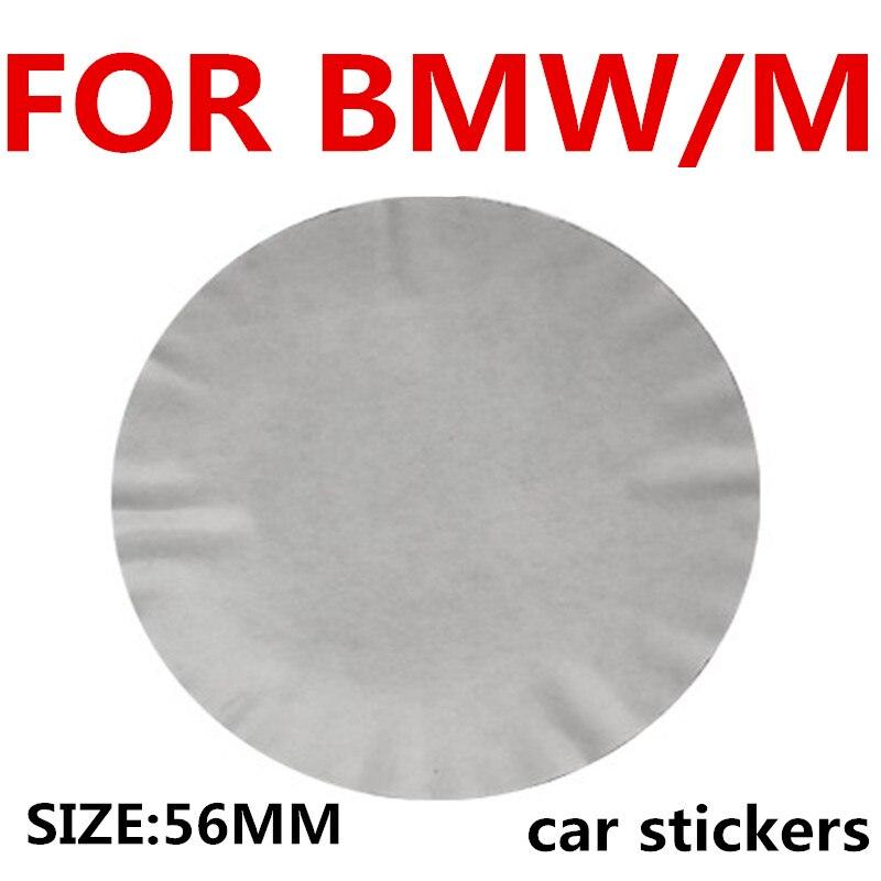 4pcs Car Wheel Tire Center Sticker Car Hubcaps Sticker For BMW E34 E36 E39 E46 E60 E90 X1 X3 X5 X6 F10 F20 F30 Car Accessories