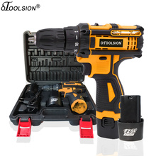 12.6V 1500mah Mini Drill Electric Drill Battery Tools Screwdriver Cordless Drill Power Drill For Drilling In Steel Wood Ceramic