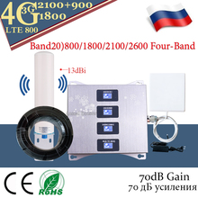 Hot!! 4g Band20)800/900/1800/2100 Four-Band Cellul