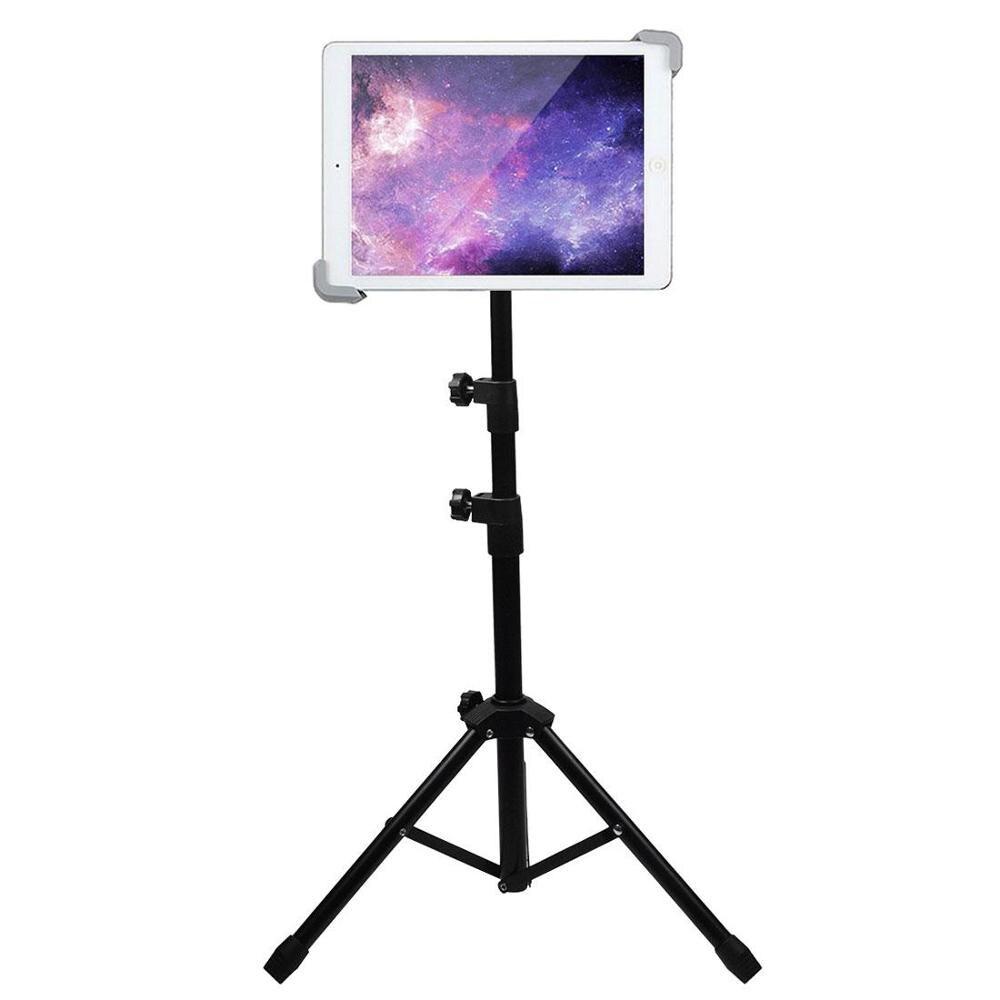 Tripod Holder For Tablet Phone 7-12'' Black