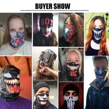 Seamless Bandana Mask Scarf Tube Buff Neck Gaiter Hunting Facemask Balaclava Headwear Army Military tour de cou Mexico USA Flag 4