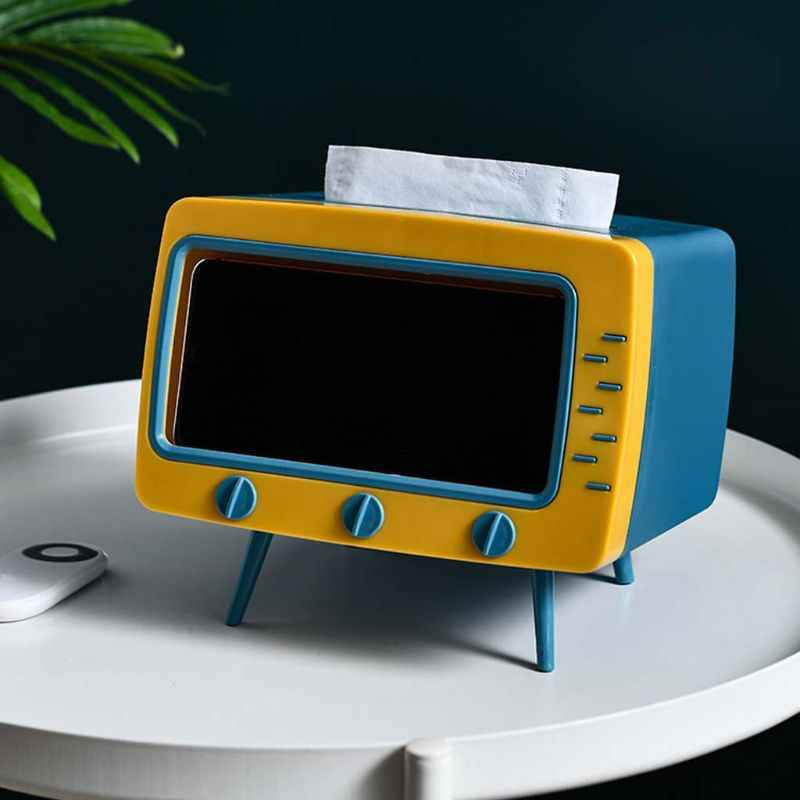 azul regalo oficina Soporte para caja de pa/ñuelos funda para hotel inodoro rectangular dispensador de papel escritorio coche Tama/ño libre XHXseller hogar varios colores para servilletas