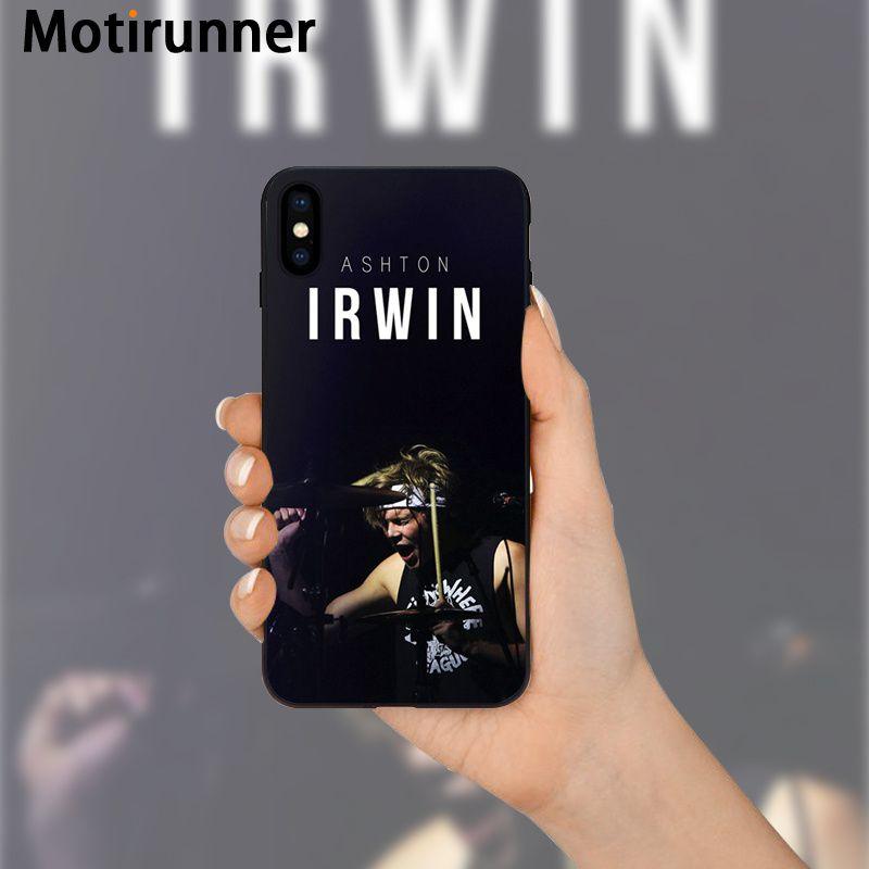 Motirunner 5SOS Ashton Irwin High Quality Silicone Phone Case for ...