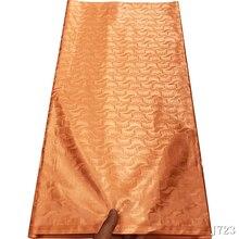 bazin riche getzner 2019 nouveau basin riche getzner with Burnt orange Atiku fabric 100%cotton african nigerian lace fabric hfx gold bazin riche getzner 2019 top quality nigerian lace fabric 100