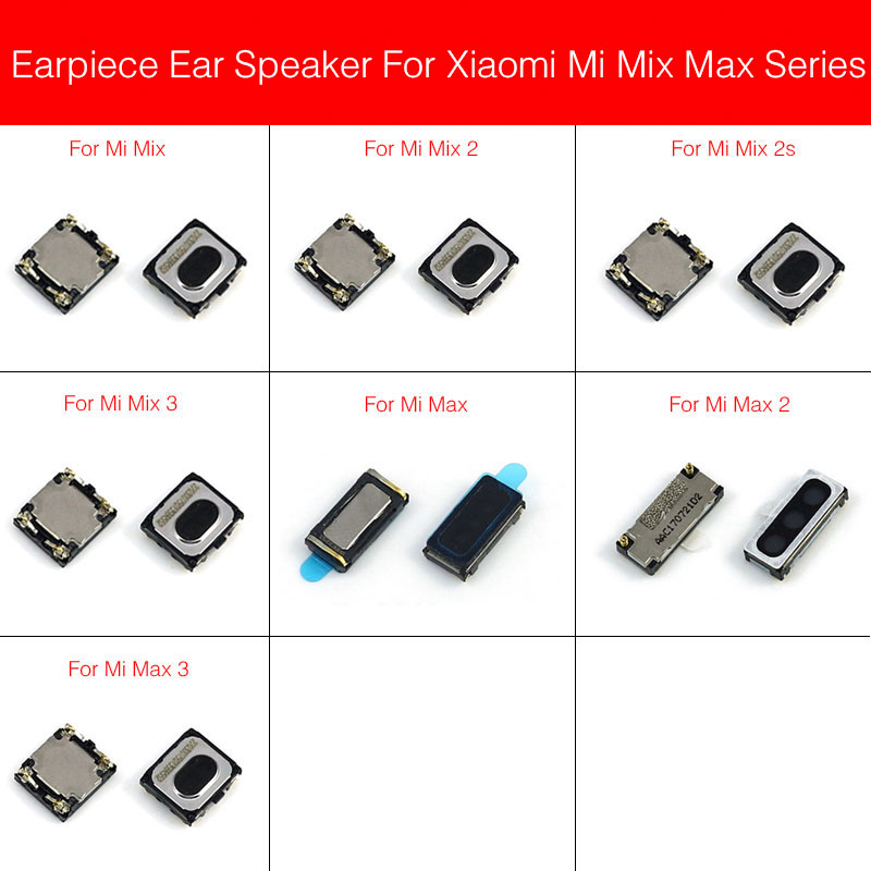 New Earpiece Speaker For Xiaomi Mi Max Mix 2 2S 3 Ear Speaker Earpiece Ear-Speaker Cell Phone Parts Replacement Repair Parts