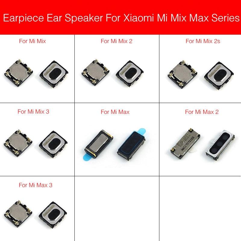 New Earpiece Speaker For Xiaomi Mi Max Mix 2 2S 3 Ear Speaker Earpiece Ear-Speaker Cell Phone Parts Replacement Repair Parts