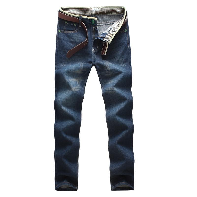 Men's Casual Loose Fund Jeans Male Cowboy Trousers Solid Slim Fit Casual Biker Denim Jeans Male Street Hip Hop Pants