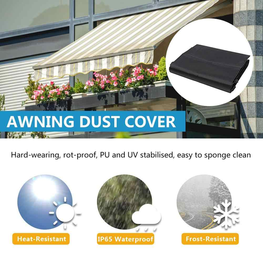 Awning Dust Cover With String Dustproof Awning Storage Bag Sun Protection Awning Cover For Outdoor Garden Patio