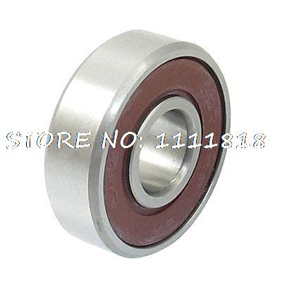 7mm X 19mm X 6mm Electric Motor Deep Groove Ball Bearing 607 2RS