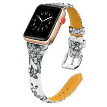 Leather strap band for Apple watch 38mm 42mm 40mm 44mm women sport watchband Replacement bracelet for iwatch Series 4 3 2 1 ashei leather watch strap for apple watch band 38mm 42mm bracelet replacement watchband for iwatch series 3 series 2 1 sport