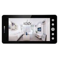 5 Inch Screen Wireless Doorbell Ip Camera 5000Mah 160 Degree Peephole with App Control Night Vision Pir Motion Sensor