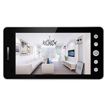 5 Inch Screen Wireless Doorbell Ip Camera 5000Mah 160 Degree Peephole with App C