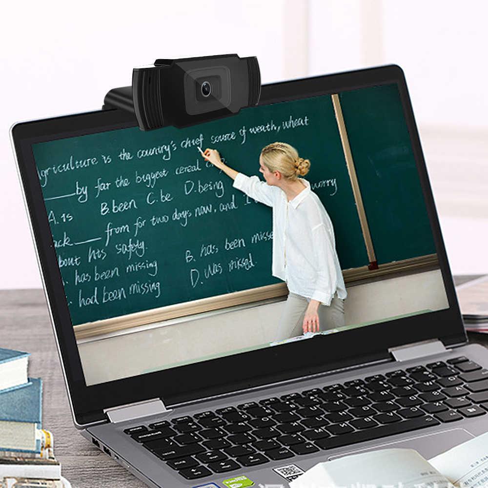 1080P Webcam HD Kamera Sechs Schicht Glas Objektiv Autofokus Webcams Für Skype Computer Clip-auf Laptop Desktop Video anruf