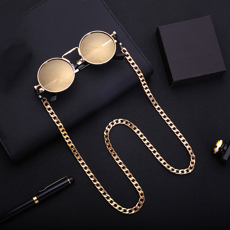 Simple Classic Women Men Sunglasses Lanyard Strap Necklace Metal Eyeglass Glasses Chain Cord For Reading Glasses