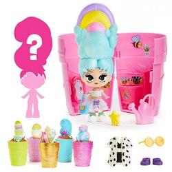 Novo blume boneca brinquedos hobbies magia vaso de flores bloom surpresa caixa cega rega flor longo cabelo bonecas meninas presentes de natal