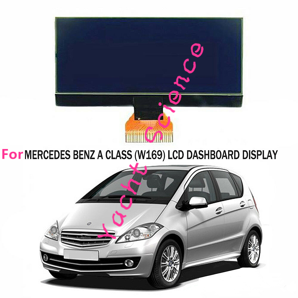 INSTRUMENT CLUSTER FOR MERCEDES A B CLASS W169 W245 LCD DISPLAY SPEEDOMETER DASHBOARD 7V 8V A1695400448 0263643242