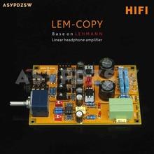 גבוהה גרסת LEM עותק כיתת אוזניות מגבר clone להמן amp DIY ערכת או סיים לוח
