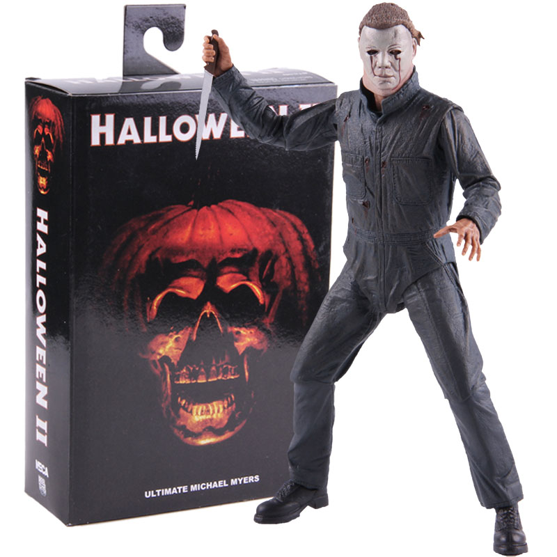 Neca Figures Halloween II Ultimate Michael Myers PVC Action Figure Collectible Model Toy