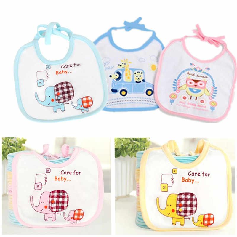 1 adet Pamuk Kız Erkek Bebek Önlükler Tükürük Havlu Burp Bezler komik Bebek Bebekler Su Geçirmez Önlük Bebek Önlükler Hediye havlu
