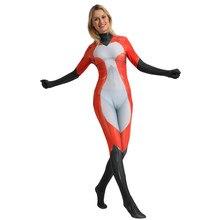 Rena Rouge chat Noir Cosplay Costume avec queue 3D impression Spandex Halloween fête Zentai Costume body