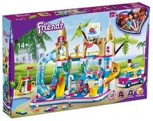 2021 nova gir disneyl amigos série 1001 pçs verão diversão parque aquático 41430 blocos de construção tijolos brinquedos para crianças presentes natal