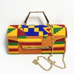 Image 5 - WENZHAN yüksek topuk ayakkabı karışık afrika pamuk balmumu kadın ayakkabı pompaları eşleşen el çantası setleri 36 43 912  4