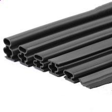 1/6M Silicone Rubber Sealing Strip Door Window Sound Insulating Strip Self-adhesive Tape 10x1/6/8/10/12/15mm Window Hardware