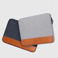 Fashio 노트북 슬리브 케이스 1/14/15/15.6 인치 노트북 여행 가방 macbook air pro notebook 용 방수 보호 커버