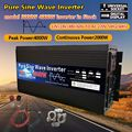 Reine Sinus-wechselrichter 3000w 4000w 12V/24V/48V/60V/220V Spannung Transformator Solar Power Inverter DC12V zu AC 220V LED Konverter