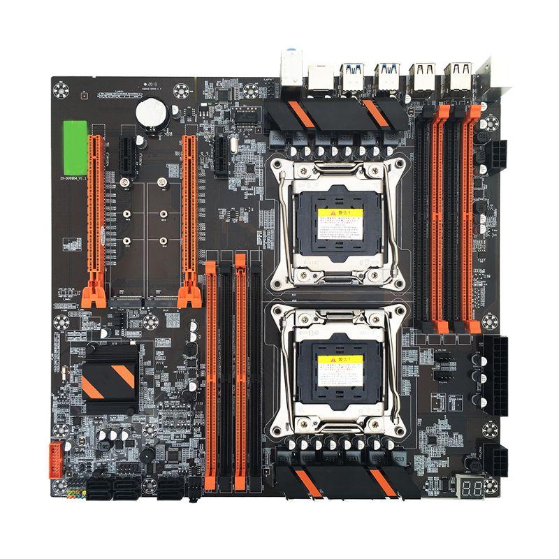 X99 двухсерверная компьютерная материнская плата LGA2011 3 процессор DDR4 игровая материнская плата с памятью модуль для In tel|Материнские платы|   | АлиЭкспресс