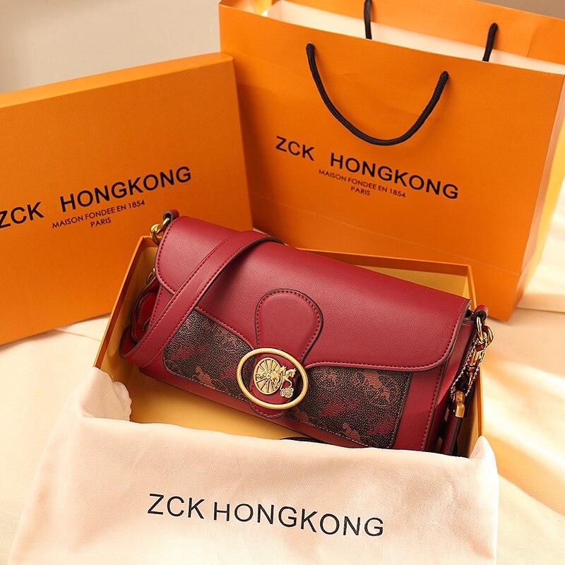 Женская обувь из натуральной кожи подмышек сумки 2021 Новая мода на одно плечо, сумка-мессенджер через плечо женские повседневное сумка Роско...