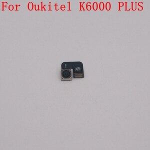 Image 1 - Oukitel K6000 ARTı Kullanılan Arka Kamera Arka Kamera 16.0MP Modülü Oukitel K6000 Artı Onarım Sabitleme Parçası Değiştirme