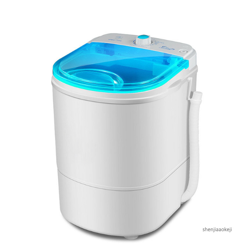 4.2KG Capacity Mini Clothes Washing Machine Home/dormitory Semi-automatic Home Washer Single-barrel Washer XPB45-388  220v