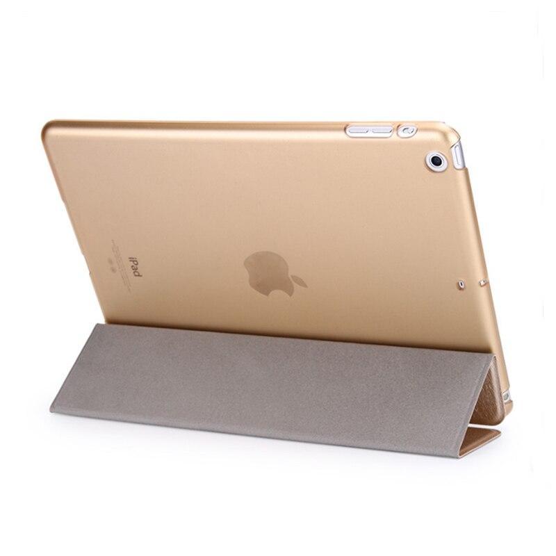 """Capa inteligente para apple ipad air, capa dobrável para ipad air 1 1 1/4 """"a1474 a1475 ipad air 2 a1566 a1567 5"""