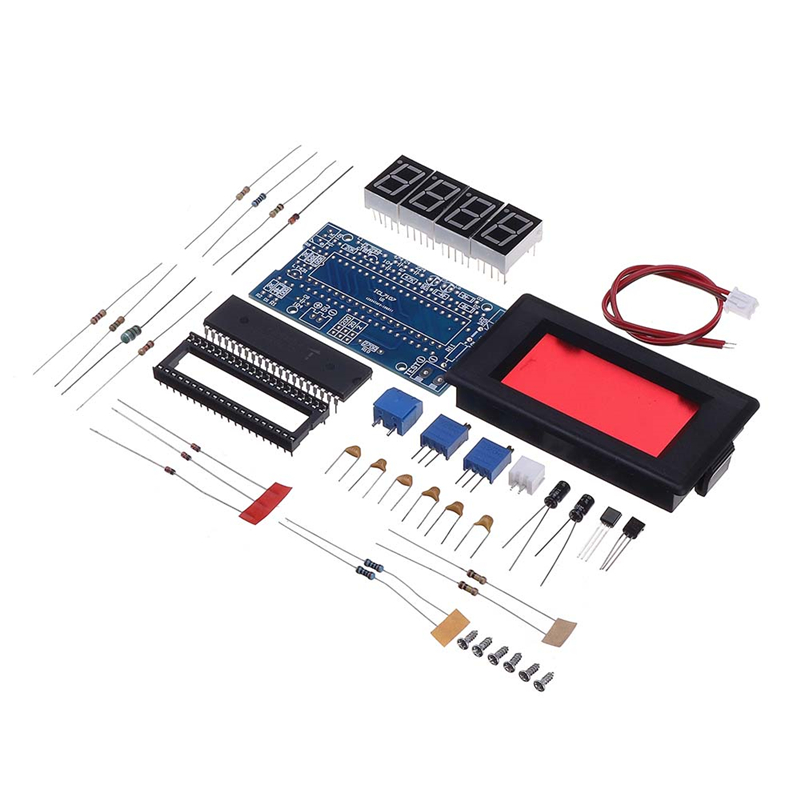 ICL7107 Voltmeter DIY Electronic Production Kit DC5V 35mA Voltage Meter Digital Voltmeter Led Modules Accessory