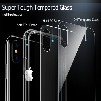 ESR Tempered Glass Case For iPhone 11 Pro X XR XS Max Shockproof Protective Cover Mirror Case For Apple iPhone iphon 11 2019 2