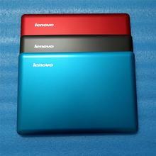 新しい oem lenovo U410 lcd 背面バックカバーラップトップシェルノートブックコンピュータ組立赤ブルーグレー 3CLZ8LCLV30