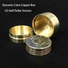 Динамические монеты медная коробка (версия для американского