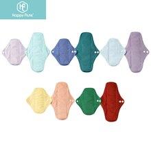 Happyflute 10Pcs Bamboo Charcoal Pads Reusable Pads Sanitary Pads Washable Panty Liner Mama maternity Menstrual  Pads